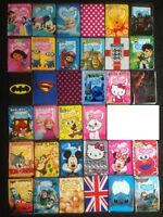 NEW Childrens Kids Passport Cover Holder Protector for Boys and Girls FREE SHIP