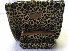 Lancome Bag with matching coin purse  Leopard print