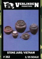 Verlinden 1:35 Stone Jars / Vietnam Resin Diorama Accessory #362