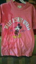 Disney S{32-36}CH/P TSHIRT.Mickey IN TYE DYE IMAGE on Front PLUS PRINT MICKEY'77
