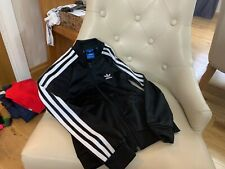 Adidas girls tracksuit top age 8-9