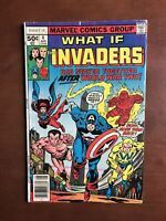 What If Invaders #4 (1977) 5.5 VG Marvel Key Issue Bronze Age Comic Sub Mariner