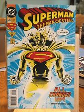 Dc Comics: SUPERMAN THE MAN OF STEEL. #28 ALL CHARGED UP!  . Box DEF