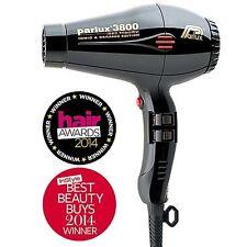 Parlux 3800 Ceramic Ionic Eco Friendly Hairdryer Black