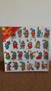 Vintage Paddington ABC Alphabet Jigsaw Puzzle by Michael Stanfield - Sealed
