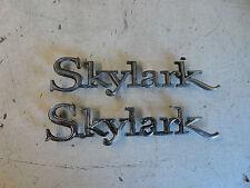 1968 1969 1970 1971 1972 Buick Skylark Custom Quarter Panel Emblems