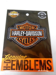 Harley Davidson Bar & Shield B&S Aufnäher Patch Emblem HDEMF1009