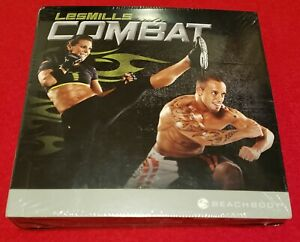 Les Mills Combat Fitness 5 DVD Workout Set with Fitness Guide - 6 Hrs 45 Minutes