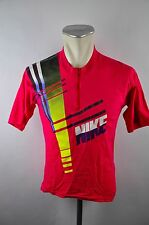 NIKE VINTAGE CYCLING CYCLING JERSEY MAGLIA RUOTA MAGLIA TG S j002