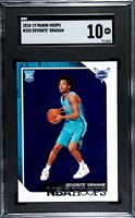 2018-19 Panini NBA Hoops #253 Devonte' Graham Rookie RC SGC 10