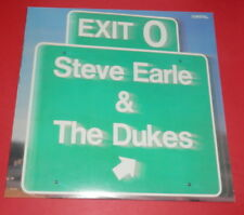 Steve Earle & The Dukes -- Exit O  -- LP / Rock