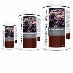 CONTINUUM EXXODUS•PHOSPHYX 1-2 years Phosphate removal in large aquariums