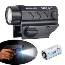Tactical 2000Lumens Gun Flashlight Torch Pistol Light For Picatinny Rail Hunting