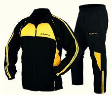 ISLERO Men Sports Tracksuit Gym Jogging Running Zipper Trouser Upper Casual MMA