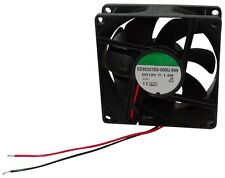 Ventilateur de boîtier d'ordinateur PC 12V 80x80x25mm 62,9m3/h 30dBA 2900rpm