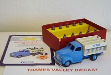 ATLAS EDITIONS DINKY TOYS 25 STUDEBAKER MILK TRUCK + CERTIFICATE OF AUTHENTICITY