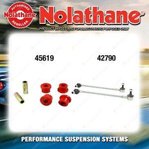 Front Nolathane Suspension Bush Kit for FIAT FREEMONT JC 4/6CYL 8/2011-ON