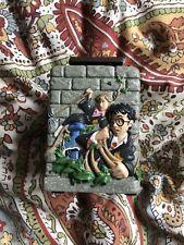 Hallmark 2001 HARRY POTTER Ron Weasley Hermione Trinket Box! HTF!