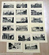 Postkarten von ROM von 1900-1910/ 16 Stück unbeschrieben mit weißem Rand