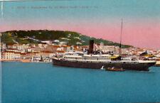 CETTE SETE 4 LL panorama vu du mole saint-louis bateaux