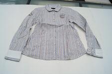 L'ARGENTINA Damen Women Bluse langarm Hemd Gr.36 gestreift TOP