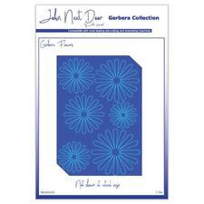 JOHN NEXT DOOR Gerbera flores Esténciles de corte jndgd010