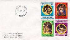 Bahamas 1970 Christmas FDC