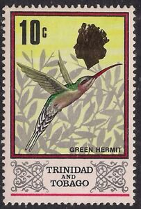 Trinidad & Tobago 1969 -1972 QE2 10c Definitive Umm SG 344 ( M1021 )