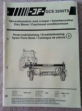 Catálogo De Piezas Cortadora de disco GCS3200TS jf