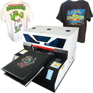 DTG Printer Direct To Garment Printer T-Shirt Textile A3 Flatbed Printer UK