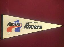 Indianapolis Racers WHA Vintage Pennant excellent condition Wayne Gretzky