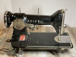 Rare Adler Sewing Machine Model 187. PLEASE READ DETAILS BEFORE BUYING.