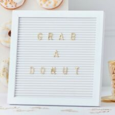 PEG BOARD WITH GOLD LETTERS -GOLD WEDDING.-Venue Deco,Birthday,Signs,Baby Shower