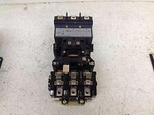 Allen Bradley 509-DOD Size 3 Contactor Motor Starter 509DOD 115-120 VAC Coil