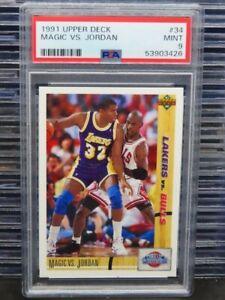1991-92 Upper Deck Magic VS. Jordan Classic Confrontation #34 PSA 9 (26) D260