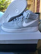 separation shoes 55dea 60a14 New Men s Nike Air Force 1 Mid  07 315123 033 Wolf Grey Basketball Shoes  Size