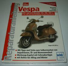 Reparaturanleitung Vespa GTS GTV 125 250 300 mit Einspritzmotor ab 2005 NEU!