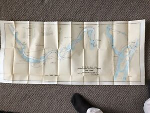 3 Erie Canal section maps 1915 NY Dept of Public Works