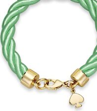 Kate Spade Learn the Ropes Bracelet  NWT Modern Nautical Theme Silk Rope Beauty
