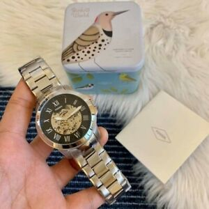 Fossil Grant Automatic Watch Silver-tone