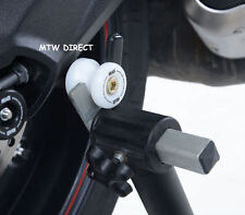 BMW S1000RR (2015) R&G RACING white cotton reels paddock stand bobbins