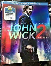 John Wick Chapter 2 (Blu-ray, 2017) Like new. No dvd or digital