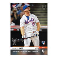 2019 Topps Now Peter Pete Alonso RC #493 T-Mobile HR Home Run Derby Champion PS