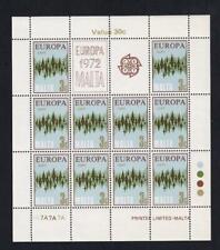 Malta Europa 1972 Communication 3¢ MNH pane of 10, sc#451  [149]