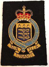 "British Royal Armed Forces Pocket Patch Sua Tonanti Tela Honi    -4 3/4 "" #4939"