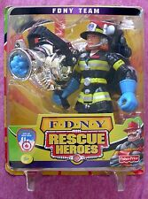 FISHER-PRICE RESCUE HEROES SPECIAL EDITION FDNY - WENDY WATERS - 2002 - NRFB