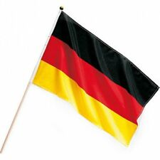 Handflagge Deutschland mit Holzstab