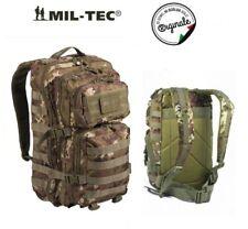Mil-tec 36l Large US Assault Patrol Zaino Tattico Molle Rucksack Vegetato
