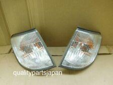 SUBARU FORESTER SF5 FRONT CORNER LIGHTS INDICATOR SIGNAL LAMPS KOUKI PAIR 01 02