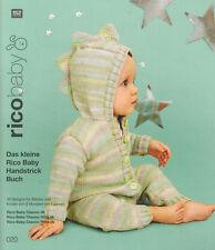 Rico Baby Handstrick Buch Nr. 20 Strickanleitungen 3 bis 7 Jahre